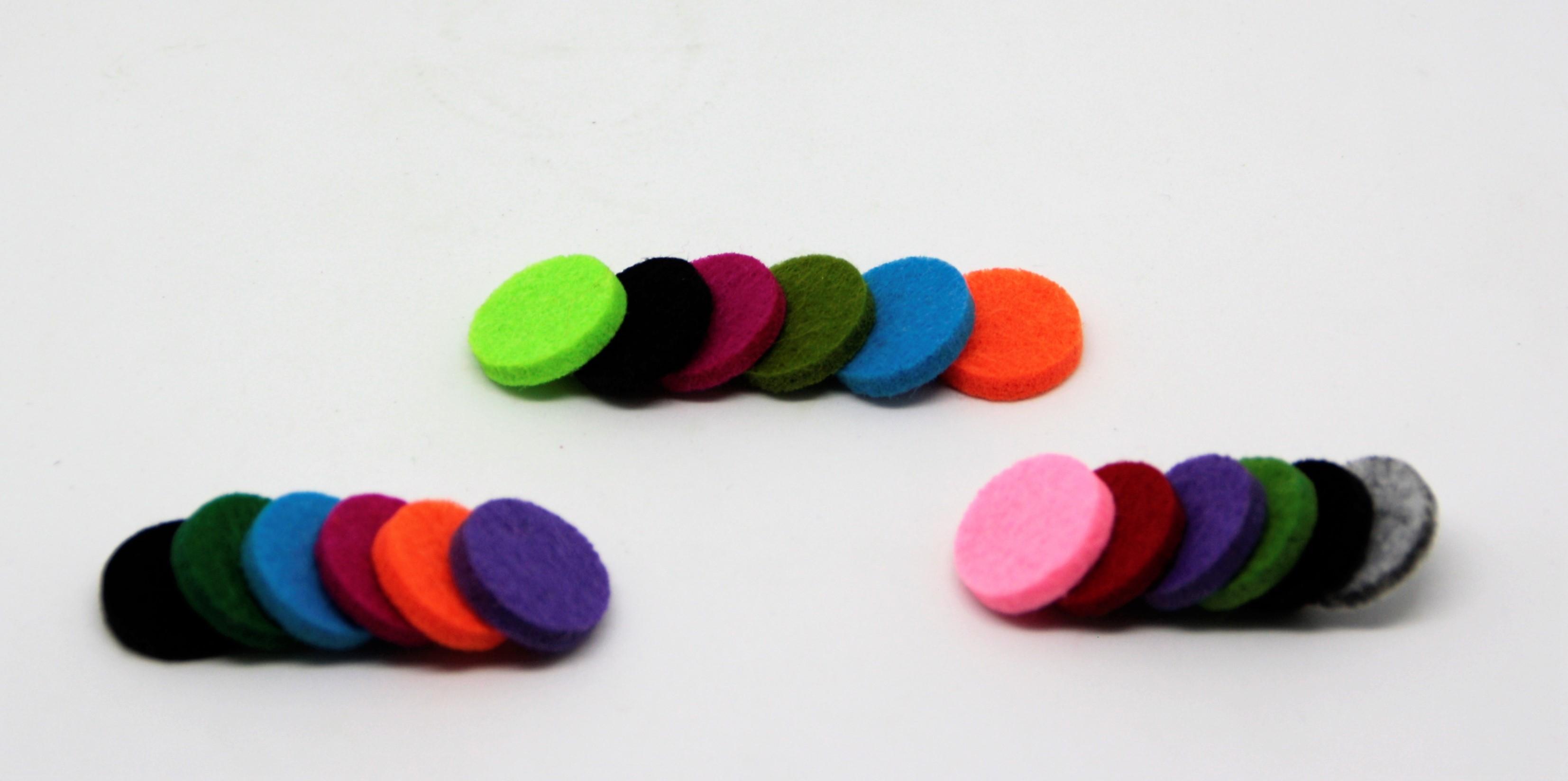 Ersatzflies-Pads 5er-Set für Schlüsselanhänger
