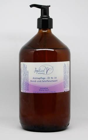 Aromapflege-Öl Nr. 14 Mund- und Zahnfleischwohl  1000 ml
