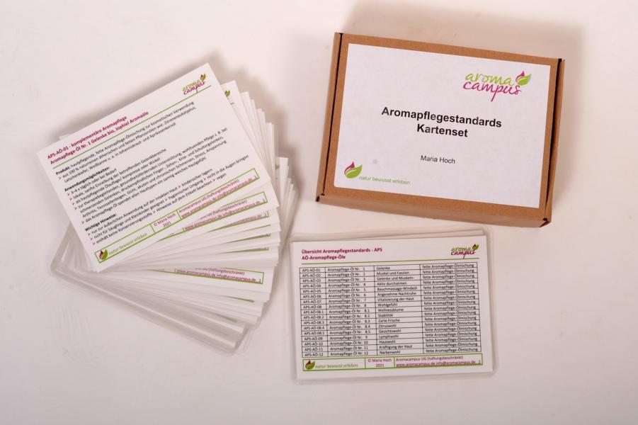 Aromapflege - Standards Kartenset