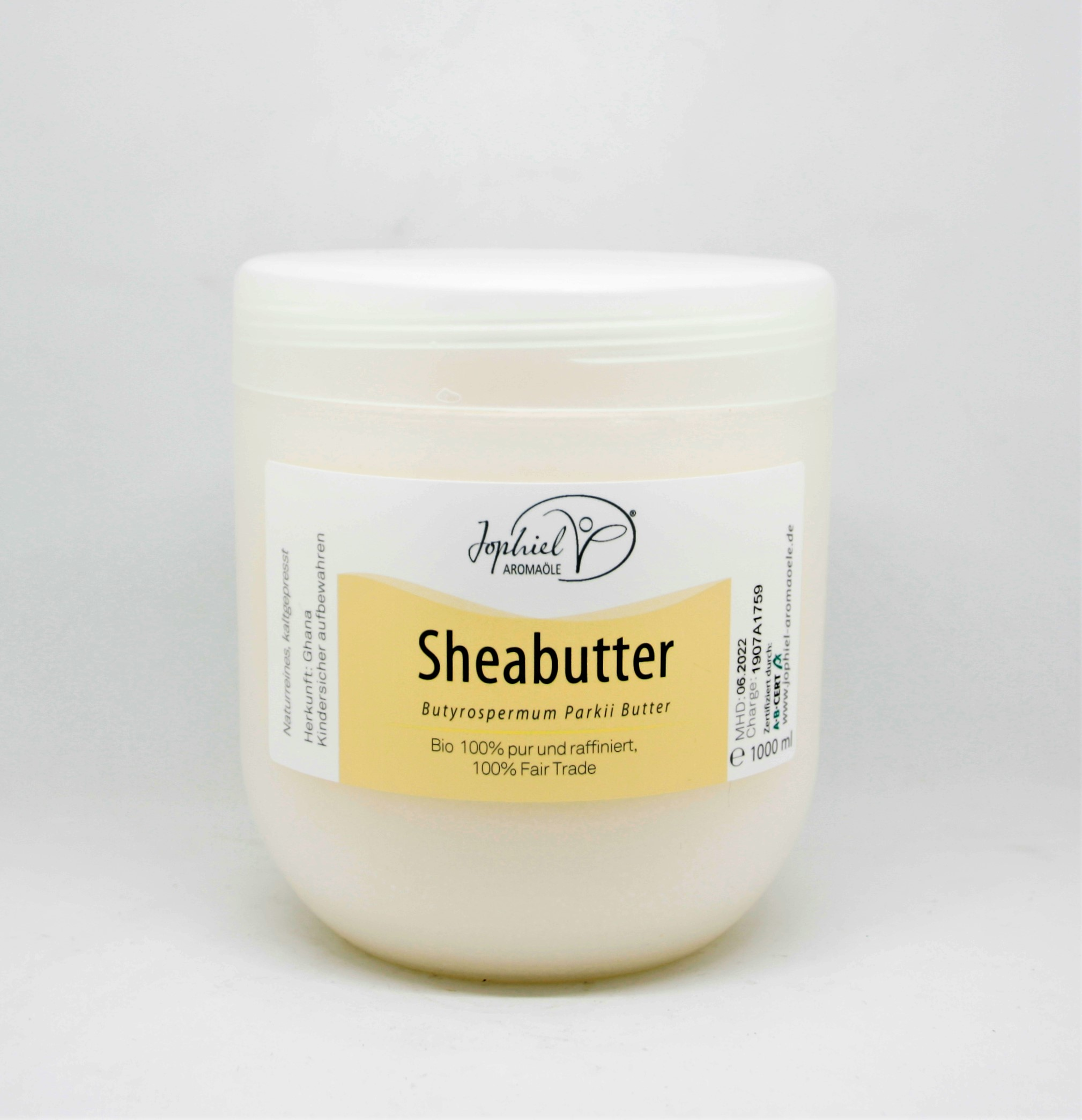 Sheabutter Bio pur raffiniert 1000 ml