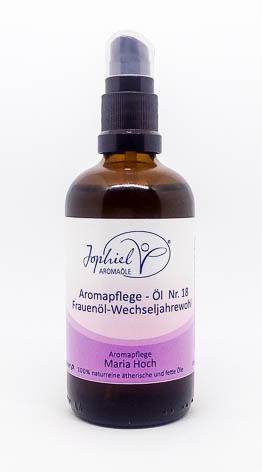 Aromapflege-Öl Nr. 18 Frauenöl-Wechseljahrewohl  100 ml  Bio