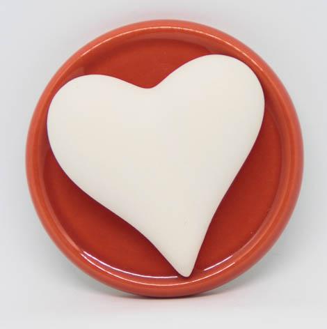 Duftstein Herz -ohne- Untersetzer