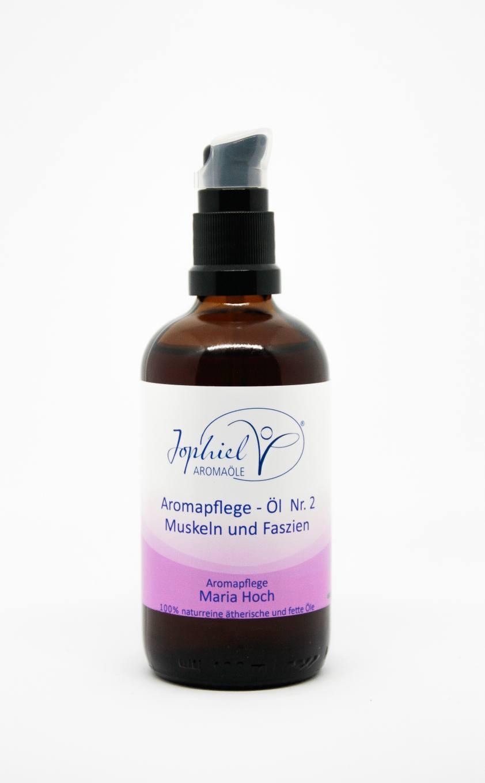 Aromapflege-Öl Nr. 02  Muskeln und Faszien 100 ml