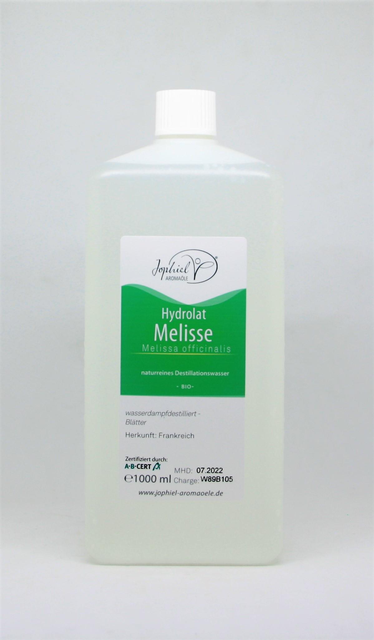Melissenhydrolat Bio 1000 ml