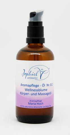 Aromapflege-Öl Nr. 08.1 Wellnessblume Körper- und Massageöle 100 ml