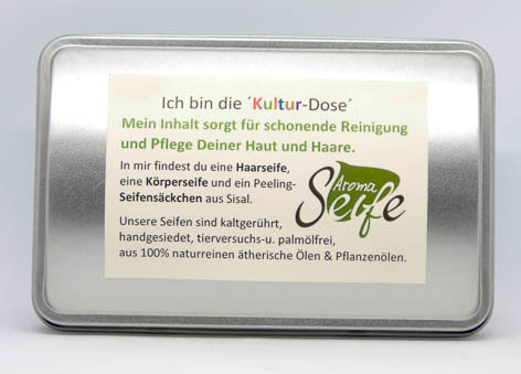 "Geschenkset ""Kultur-Dose"""