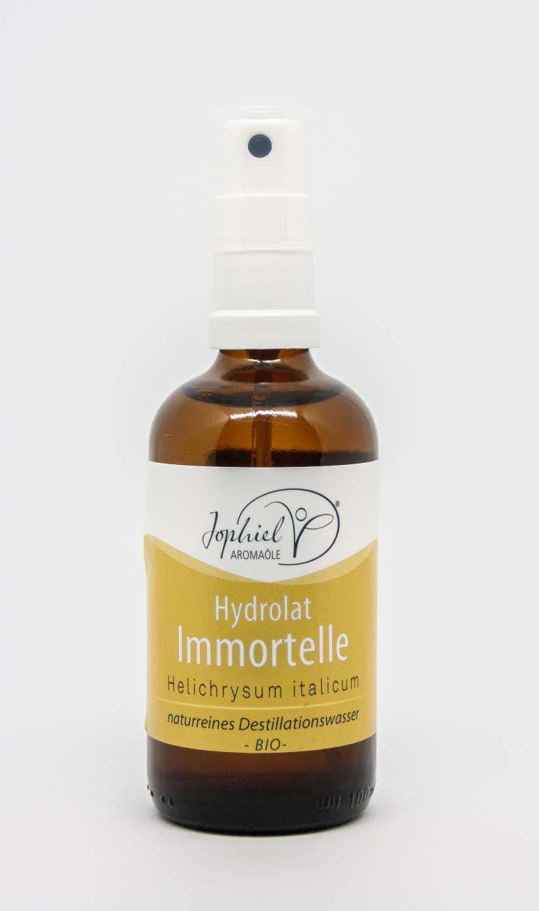Immortellenhydrolat Bio 100 ml mit Zerstäuber