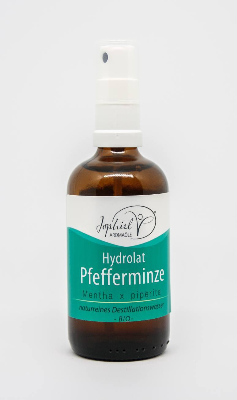 Pfefferminzhydrolat Bio 100 ml mit Zerstäuber
