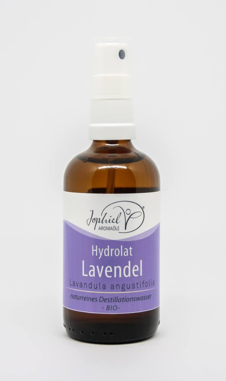 Lavendelhydrolat Bio 100 ml mit Zerstäuber