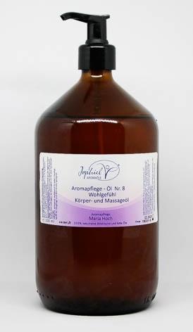 Aromapflege-Öl Nr. 08 Wohlgefühl Körper- und Massageöle 1000 ml