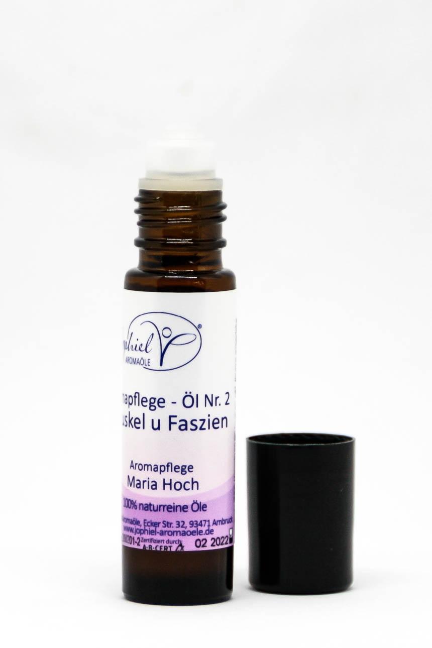 Aromapflege-Öl Nr. 02  Muskeln und Faszien im Roll on 10 ml