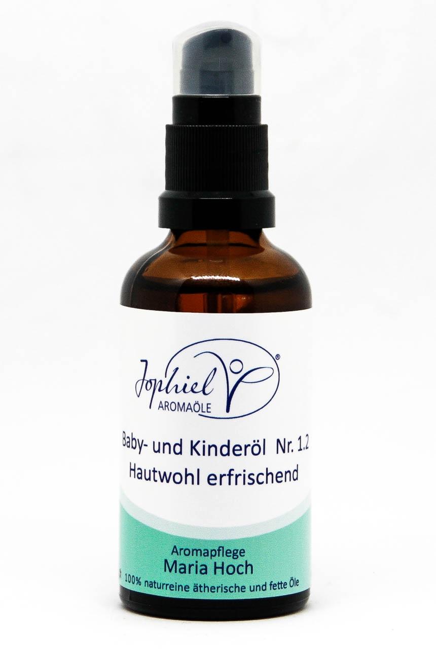 Baby- und Kinderöl Nr. 1.2 Hautwohl erfrischend 50 ml