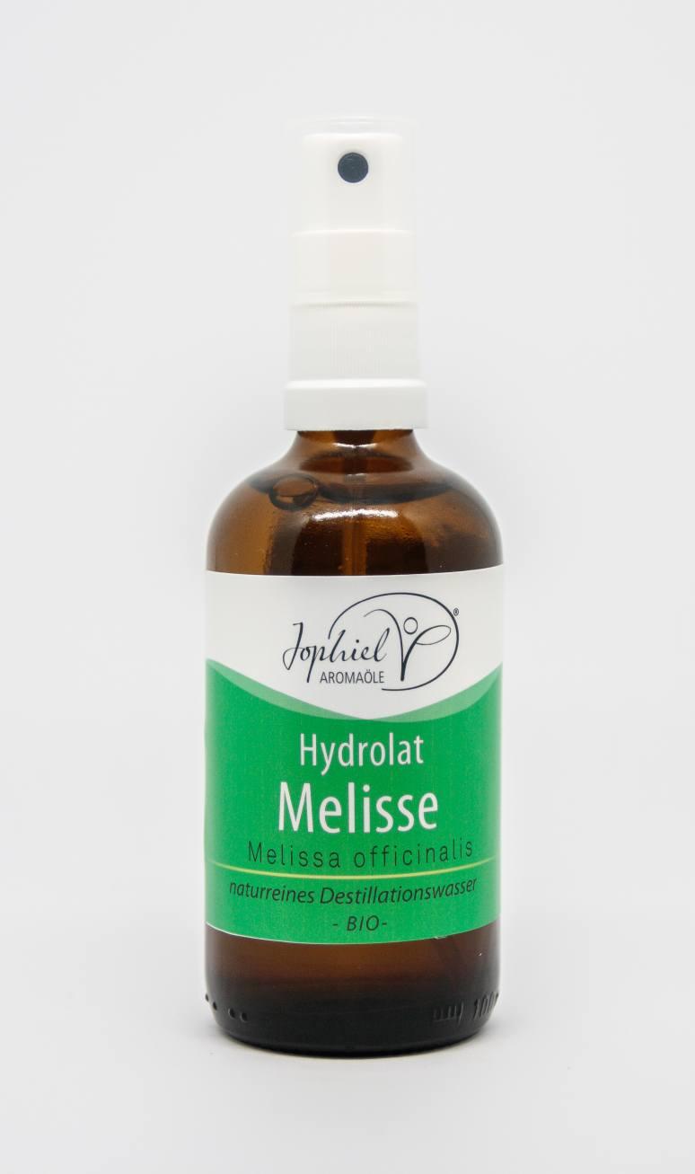Melissenhydrolat Bio 100 ml mit Zerstäuber