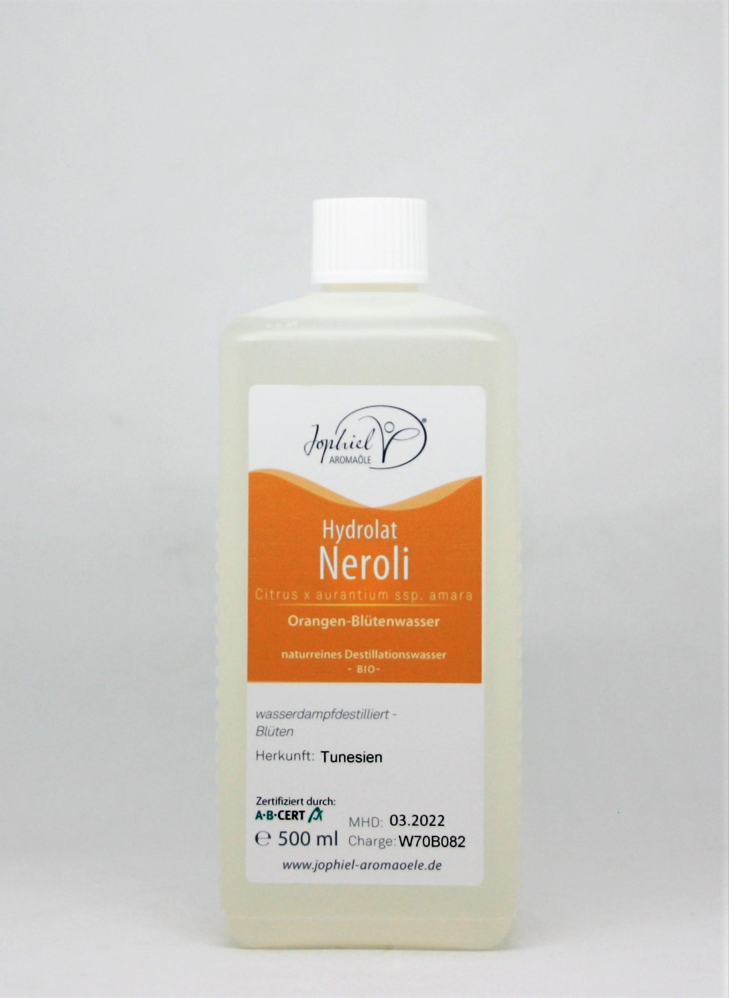 Nerolihydrolat Bio 500 ml