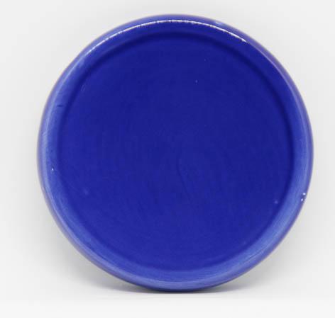 Keramik-Untersetzer für Duftsteine - dunkelblau