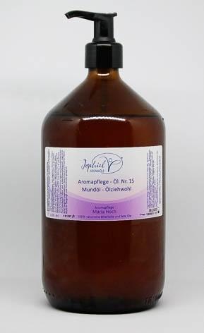 Aromapflege-Öl Nr. 15 Mundöl- Ölziehwohl 1000 ml
