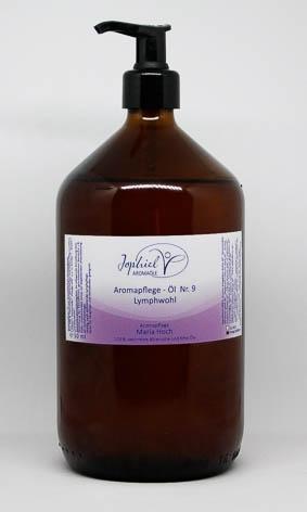 Aromapflege-Öl Nr. 09 Lymphwohl 1000 ml
