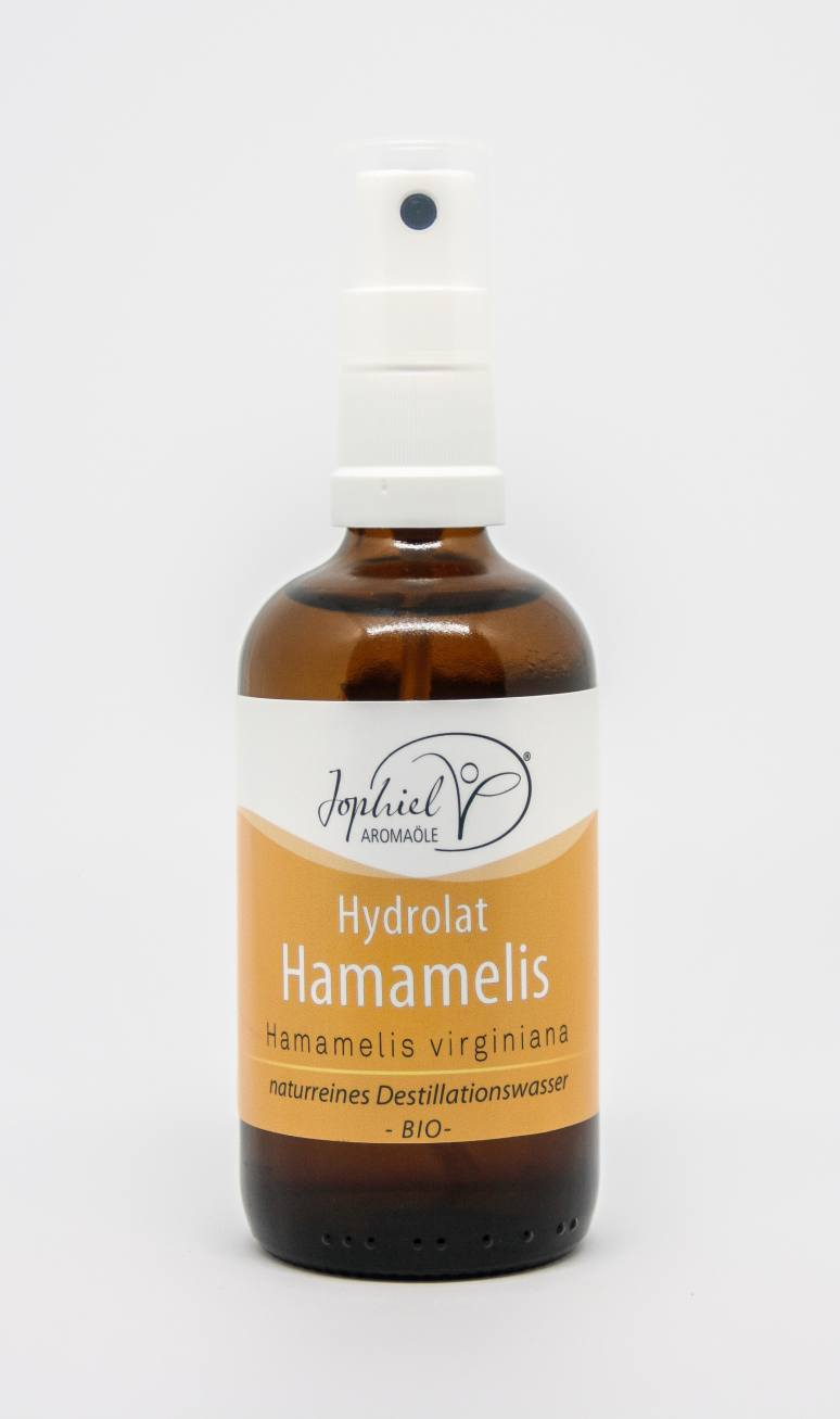 Hamamelishydrolat Bio 100 ml mit Zerstäuber