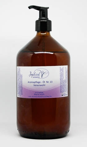 Aromapflege-Öl Nr. 13 Venenwohl  1000 ml
