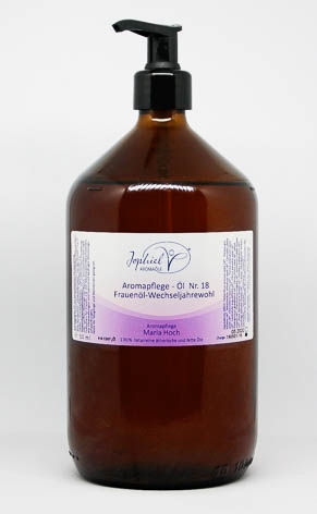 Aromapflege-Öl Nr. 18 Frauenöl-Wechseljahrewohl  1000 ml
