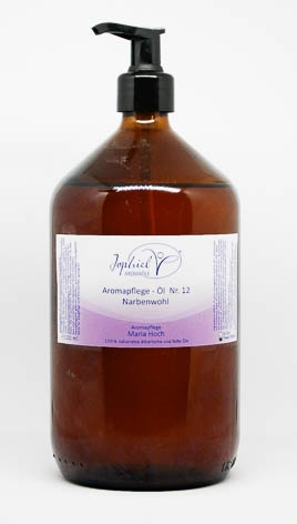 Aromapflege-Öl Nr. 12 Narbenwohl 1000 ml