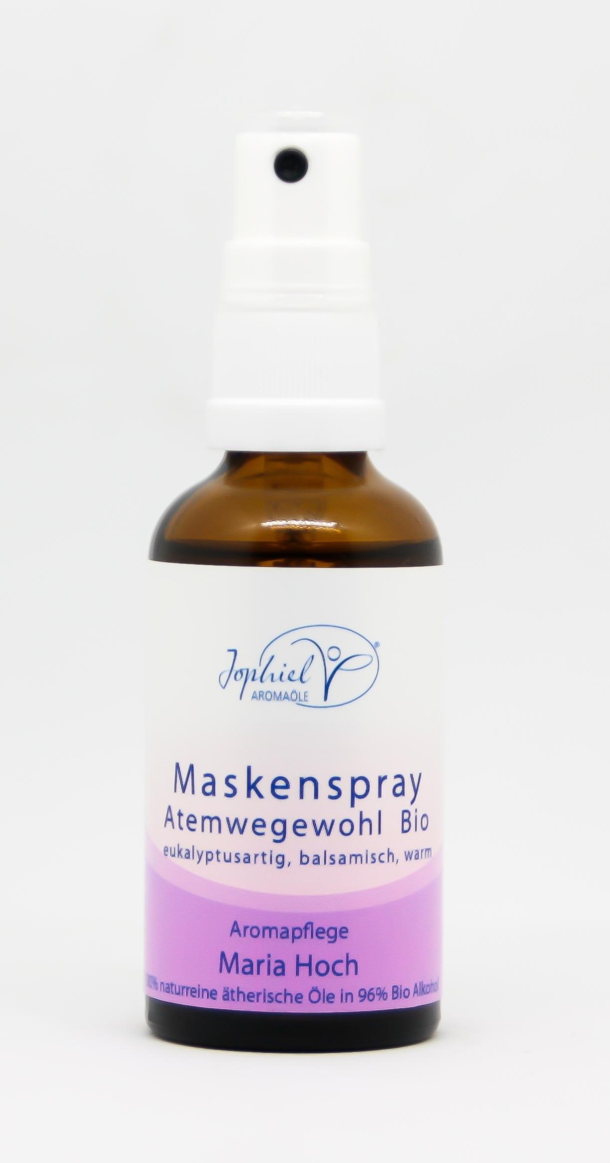Maskenspray Atemwegewohl Bio 50 ml