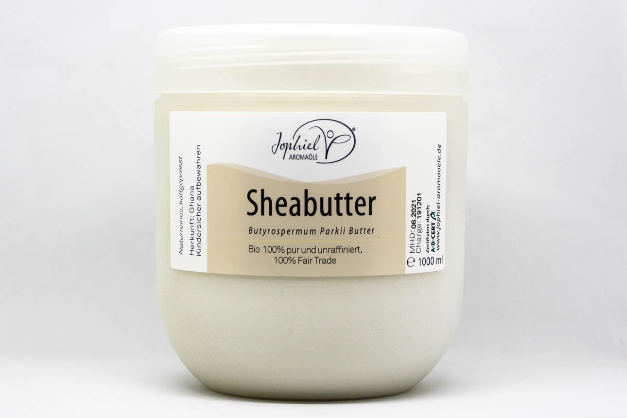 Sheabutter Bio pur unraffiniert 1000 ml