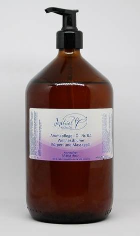 Aromapflege-Öl Nr. 08.1 Wellnessblume Körper- und Massageöle 1000 ml