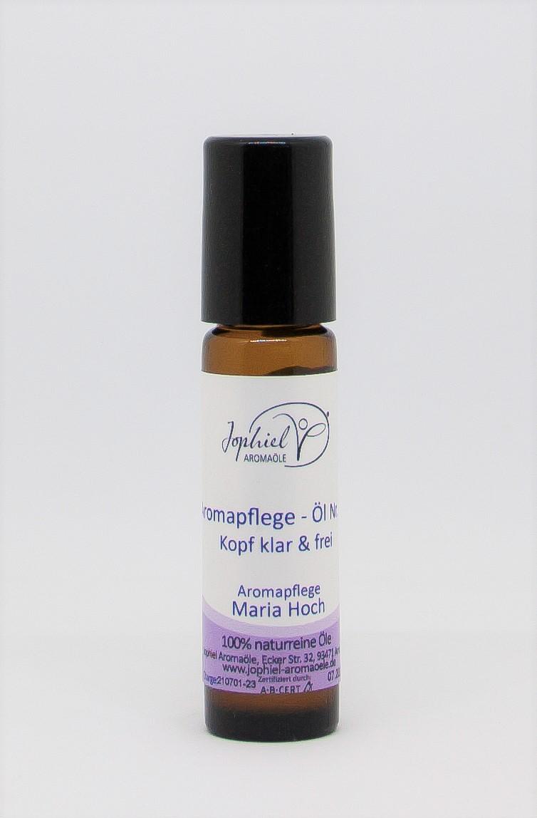 Aromapflege-Öl Nr. 23 Kopf klar & frei 10 ml Roll on   Bio