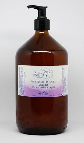 Aromapflege-Öl Nr. 08.2 Stabilität Körper- und Massageöle 1000 ml