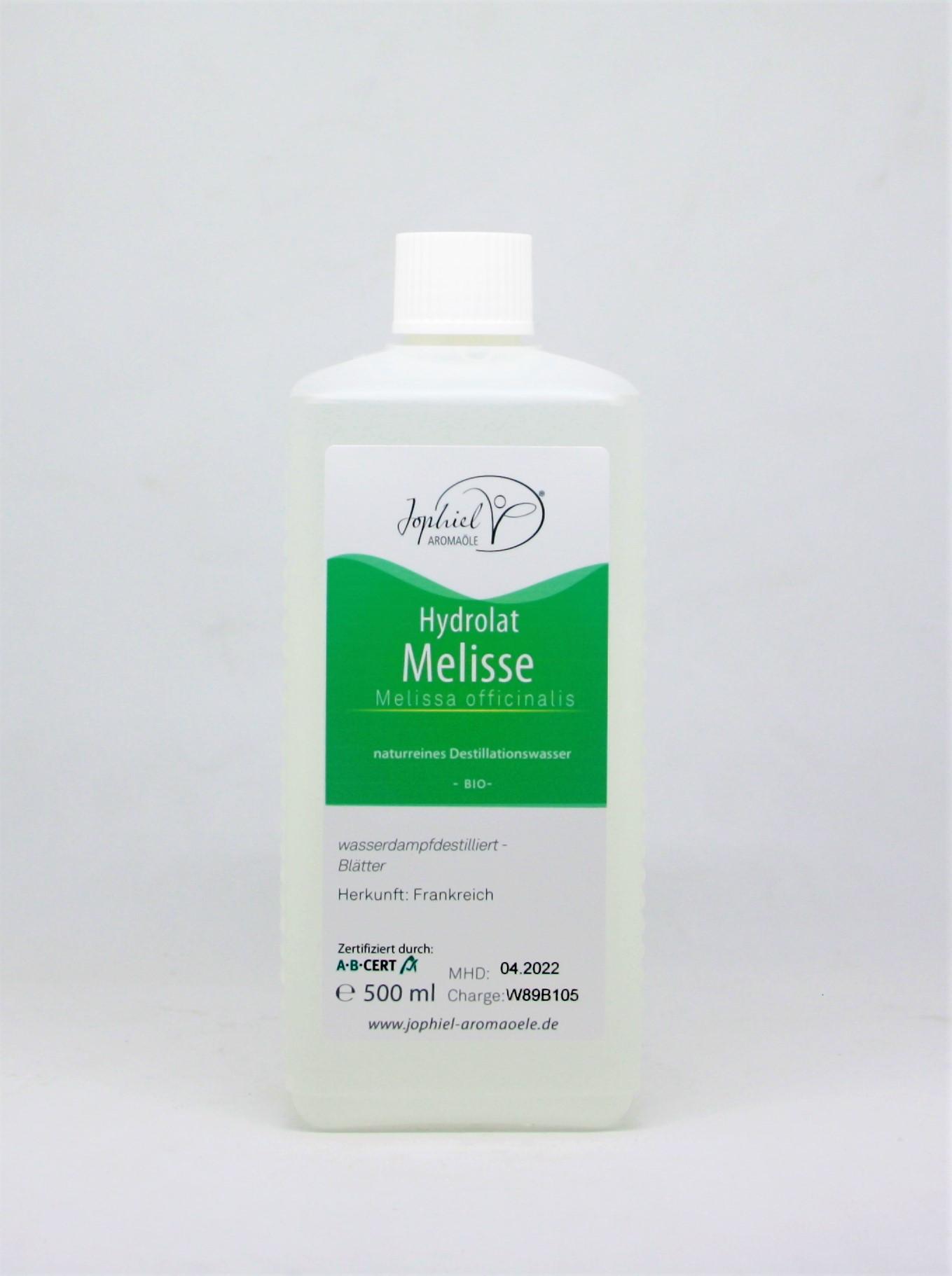 Melissenhydrolat Bio 500 ml