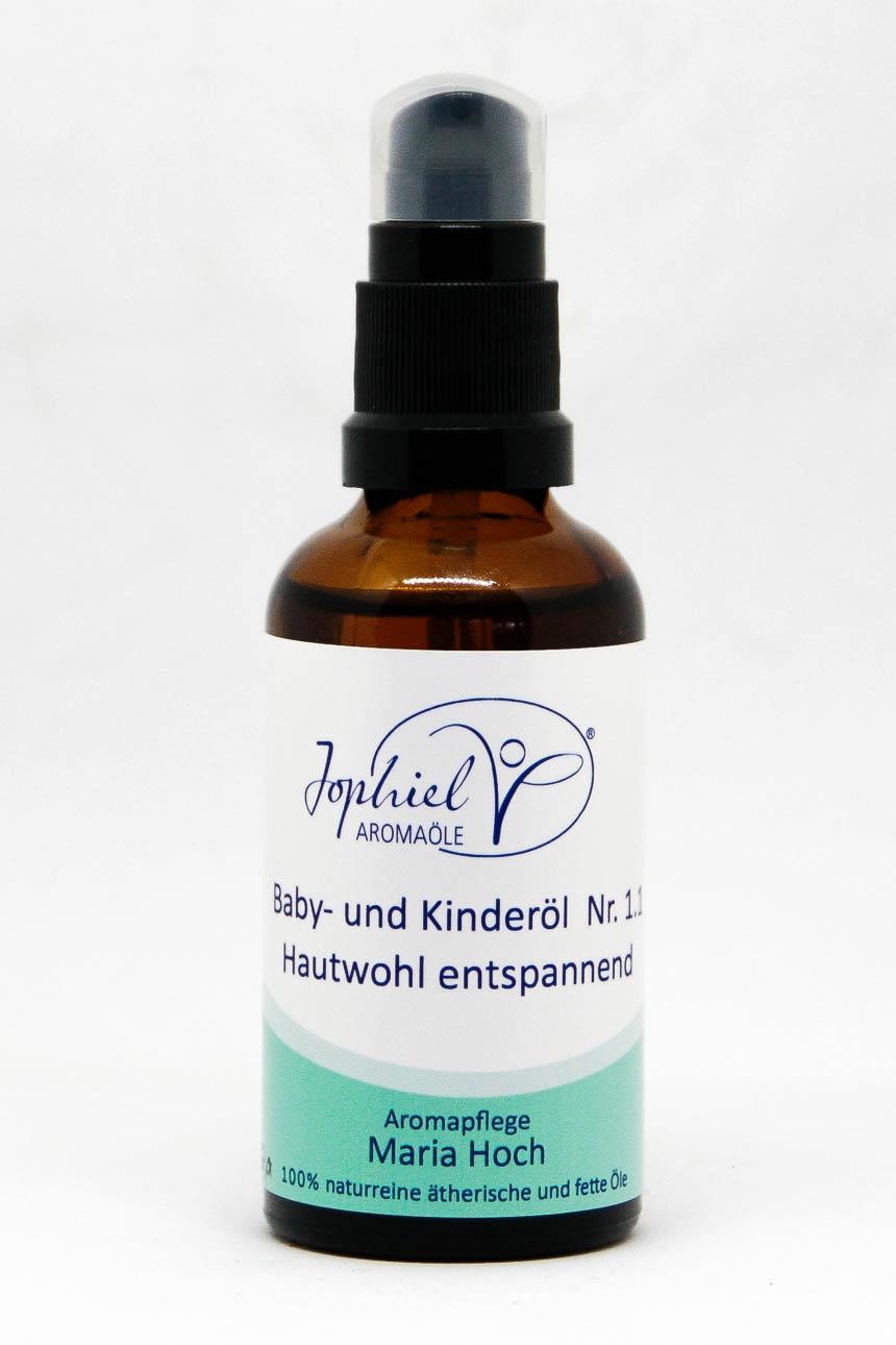 Baby- und Kinderöl Nr. 1.1 Hautwohl entspannend 50 ml